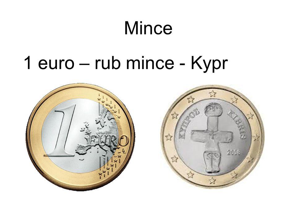 Mince 1 euro – rub mince - Kypr