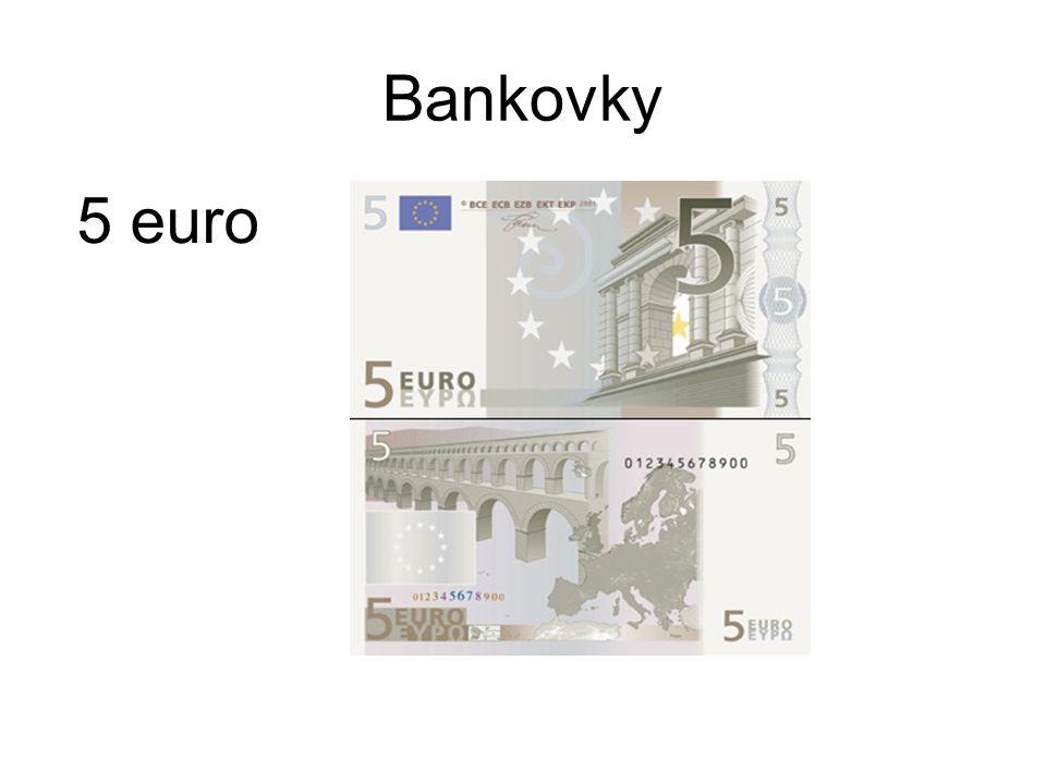 Bankovky 5 euro