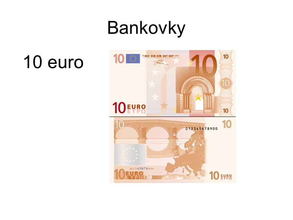 Bankovky 10 euro
