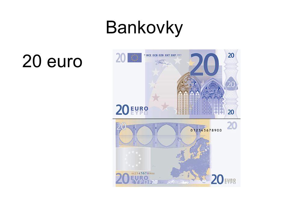 Bankovky 20 euro