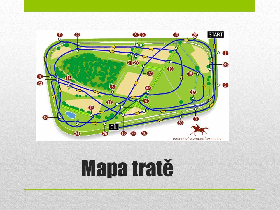 Mapa tratě