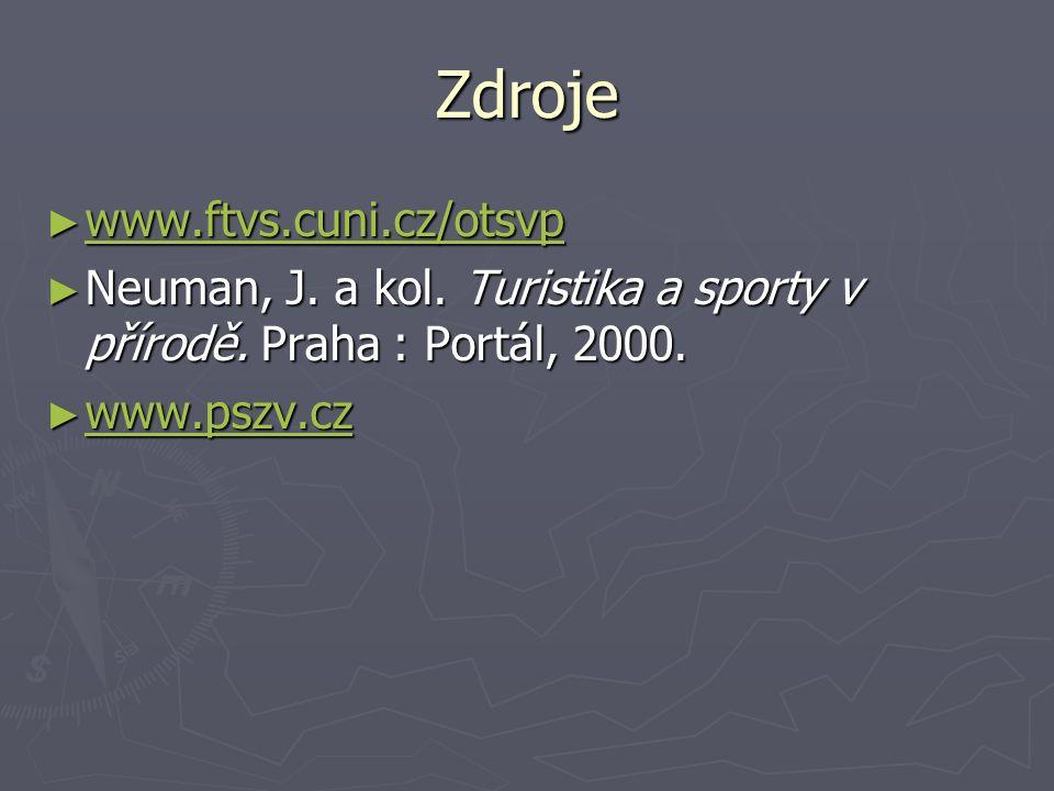 Zdroje ► www.ftvs.cuni.cz/otsvp www.ftvs.cuni.cz/otsvp ► Neuman, J.