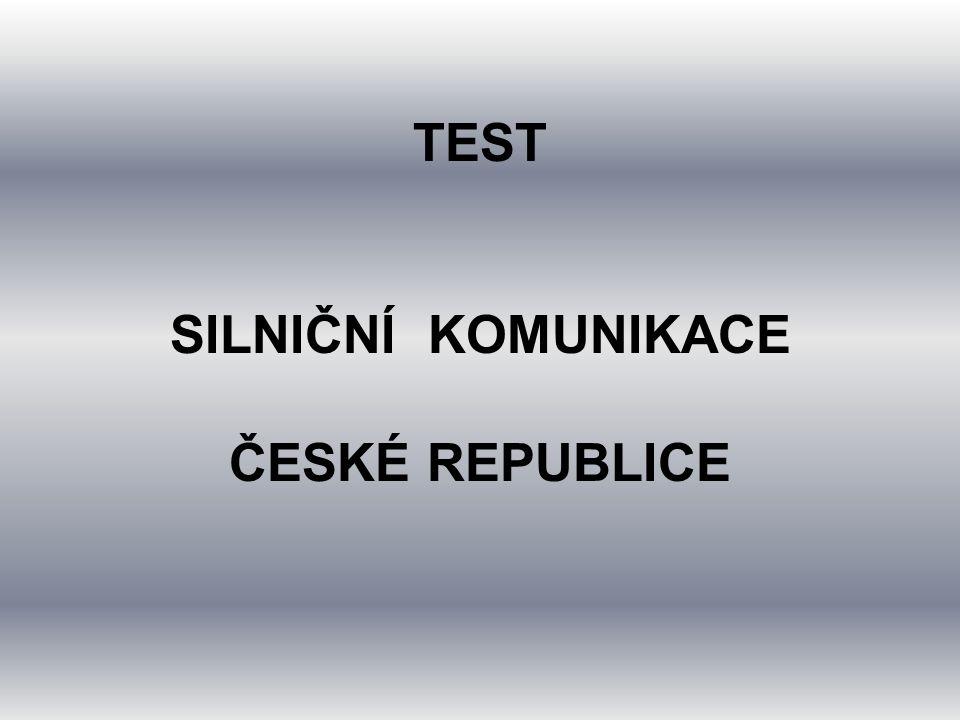 21. Kolik mezinárodních silničních tahů (E) je v ČR a)11 b)12 c)13