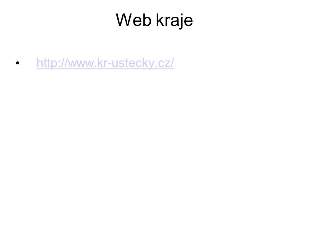 Web kraje http://www.kr-ustecky.cz/