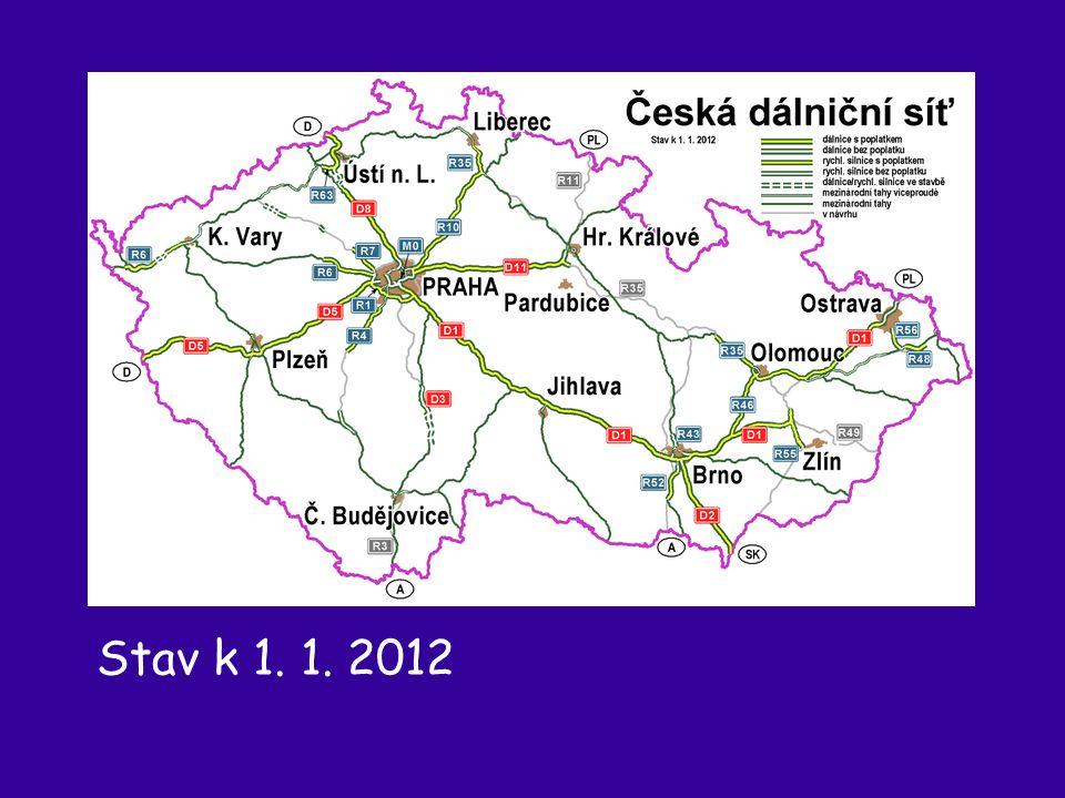 Stav k 1. 1. 2012
