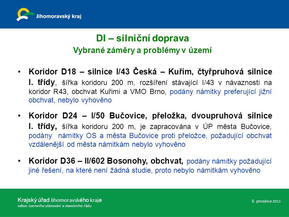 Koridor D18 – silnice I/43 Česká – Kuřim, čtyřpruhová silnice I.
