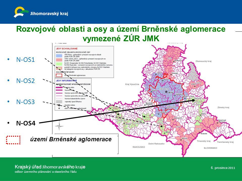 ZÚR JMK nevymezují žádné rozvojové oblasti nadmístního významu.