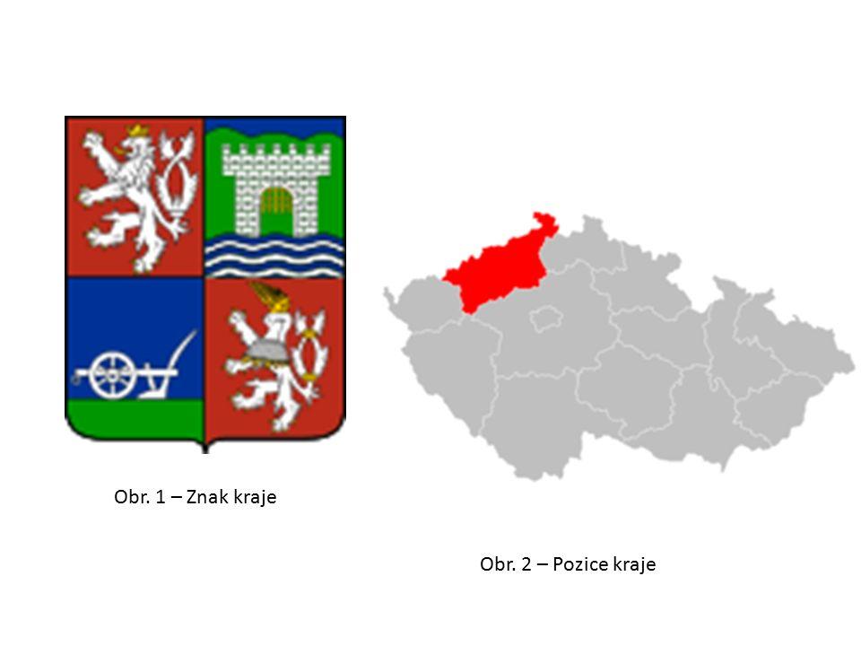 Obr. 1 – Znak kraje Obr. 2 – Pozice kraje