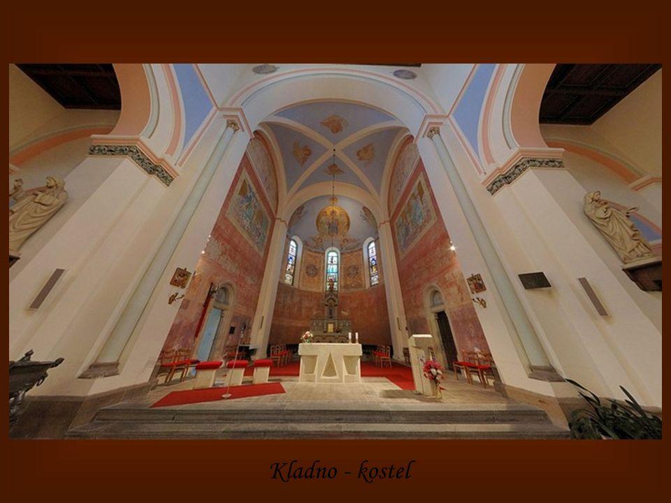 Kladno – kaple sv.Vavřince
