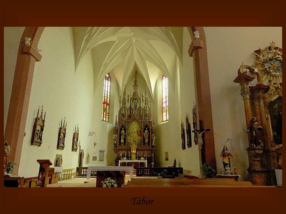 Prachatice - kostel