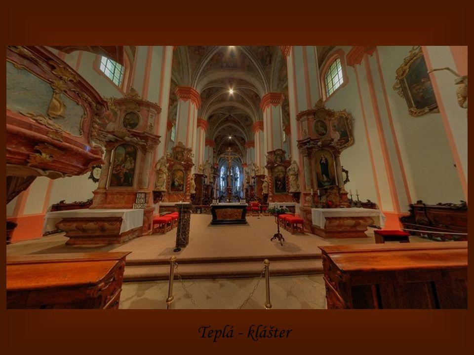 Teplá - kostel