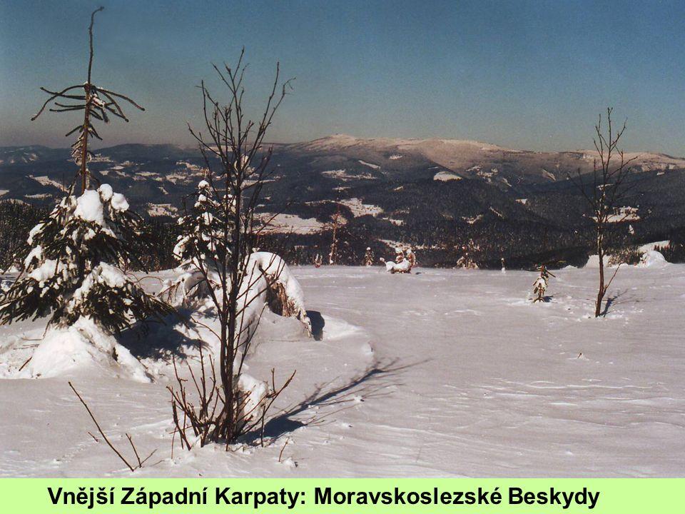 Vnější Západní Karpaty: Moravskoslezské Beskydy
