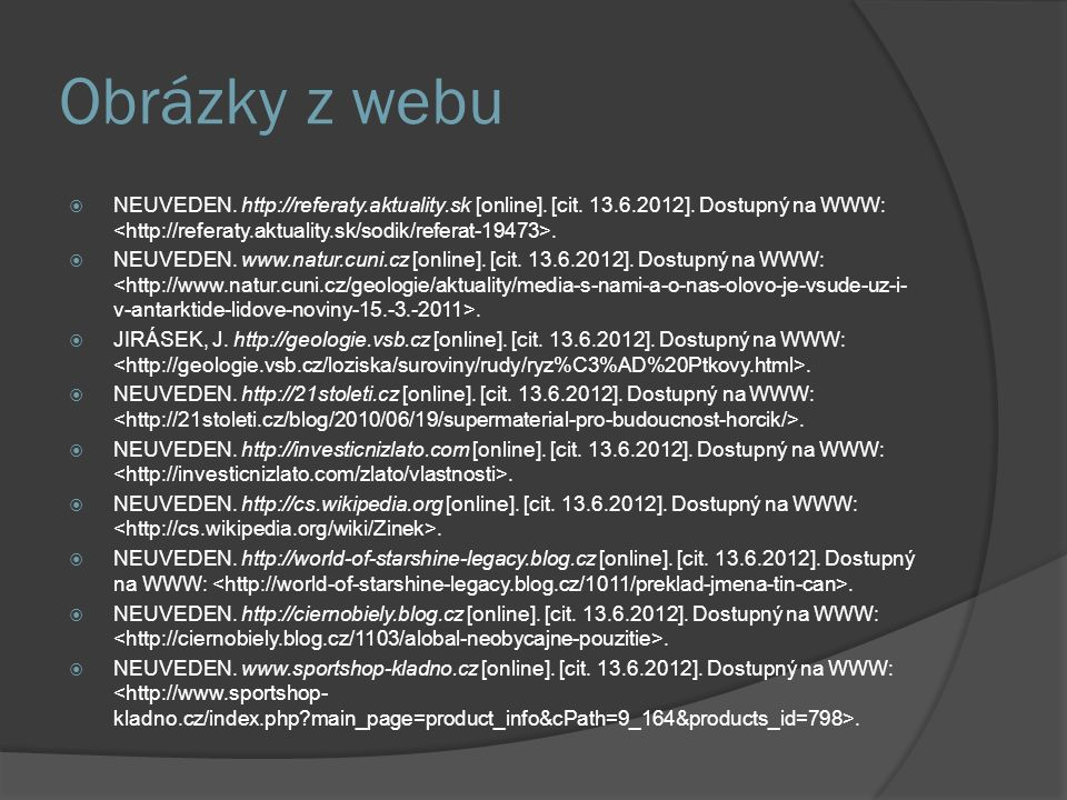 Obrázky z webu  NEUVEDEN. http://referaty.aktuality.sk [online].