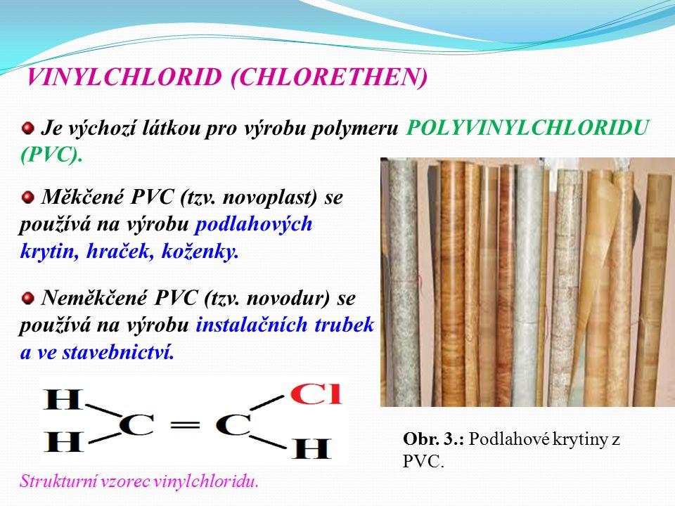Je výchozí látkou pro výrobu TEFLONU (polytetrafluorethylen), ze kterého se vyrábí tzv.