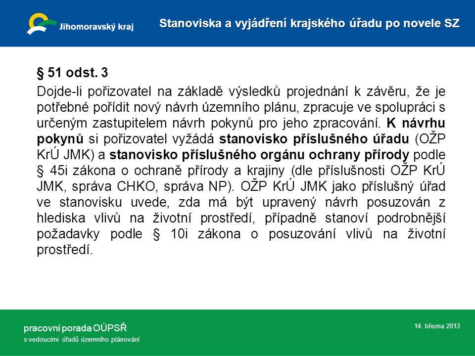 14. března 2013 § 51 odst.