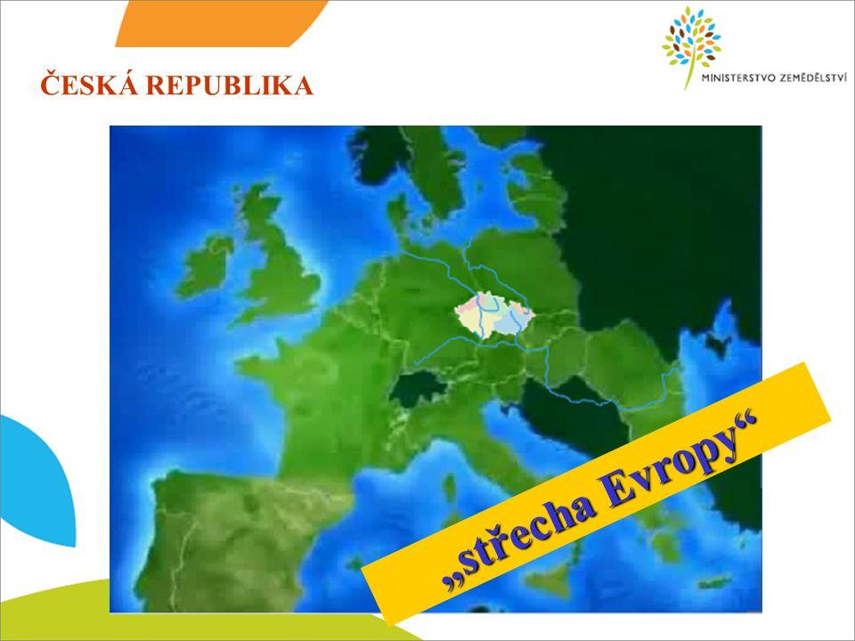 """ČESKÁ REPUBLIKA """"střecha Evropy"""