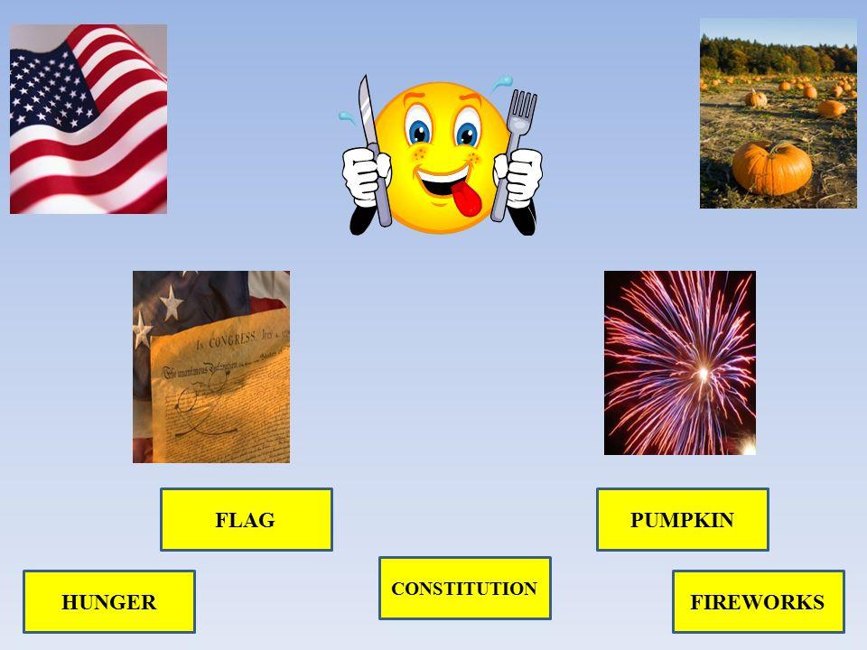 HUNGER FLAG CONSTITUTION PUMPKIN FIREWORKS