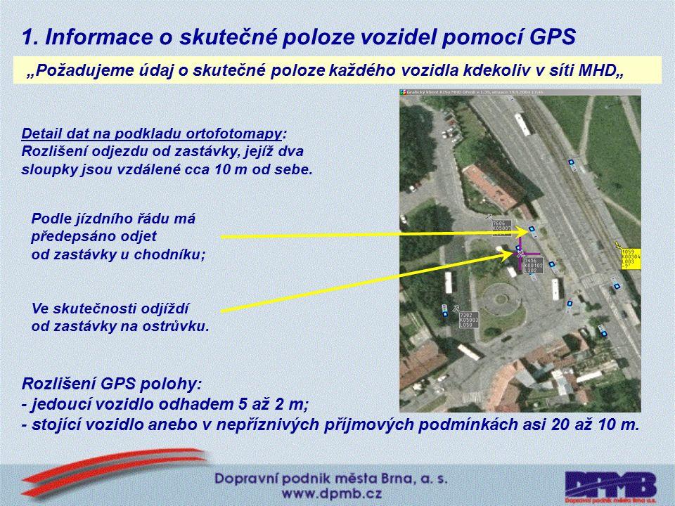 Telematický systém brněnské MHD