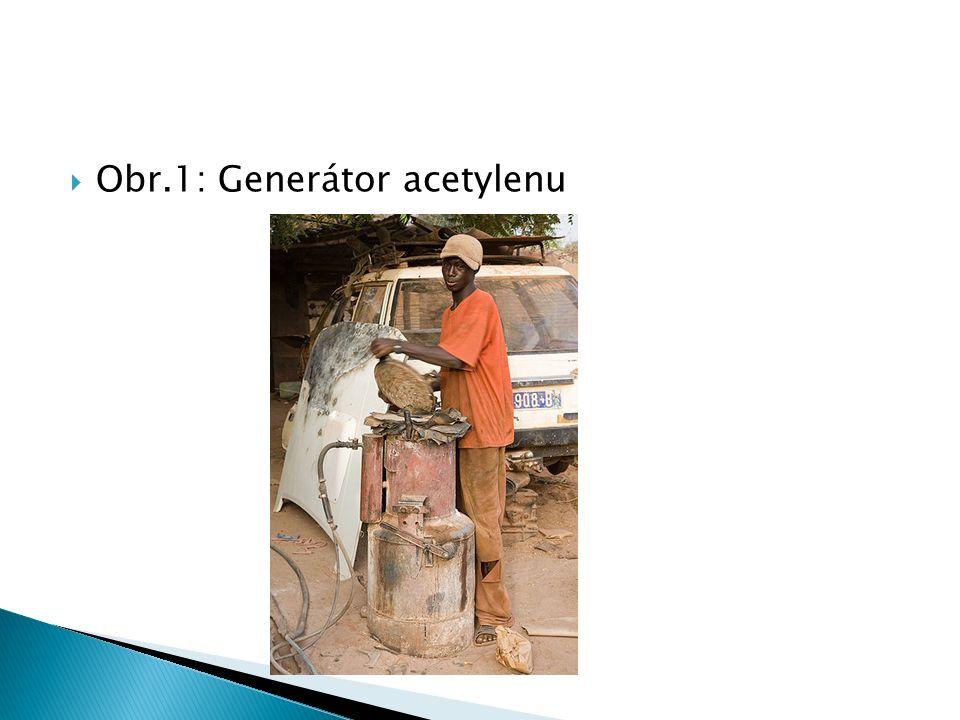  Obr.1: Generátor acetylenu