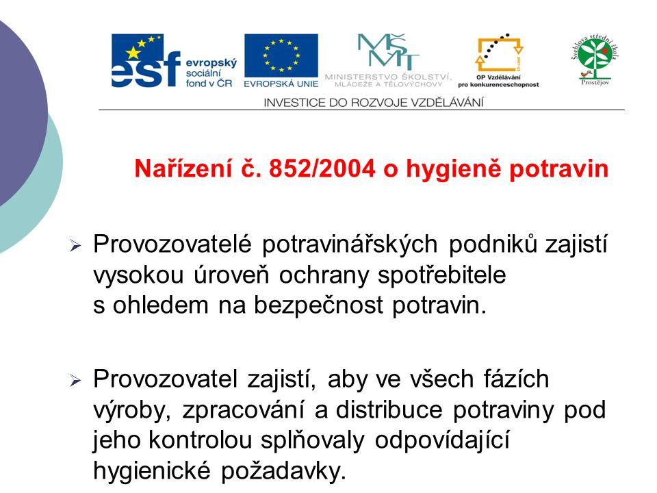 Evropský úřad pro bezpečnost potravin Velmi důležitou součástí Evropského úřadu pro bezpečnost potravin je  systém včasné výměny informací  řízení k