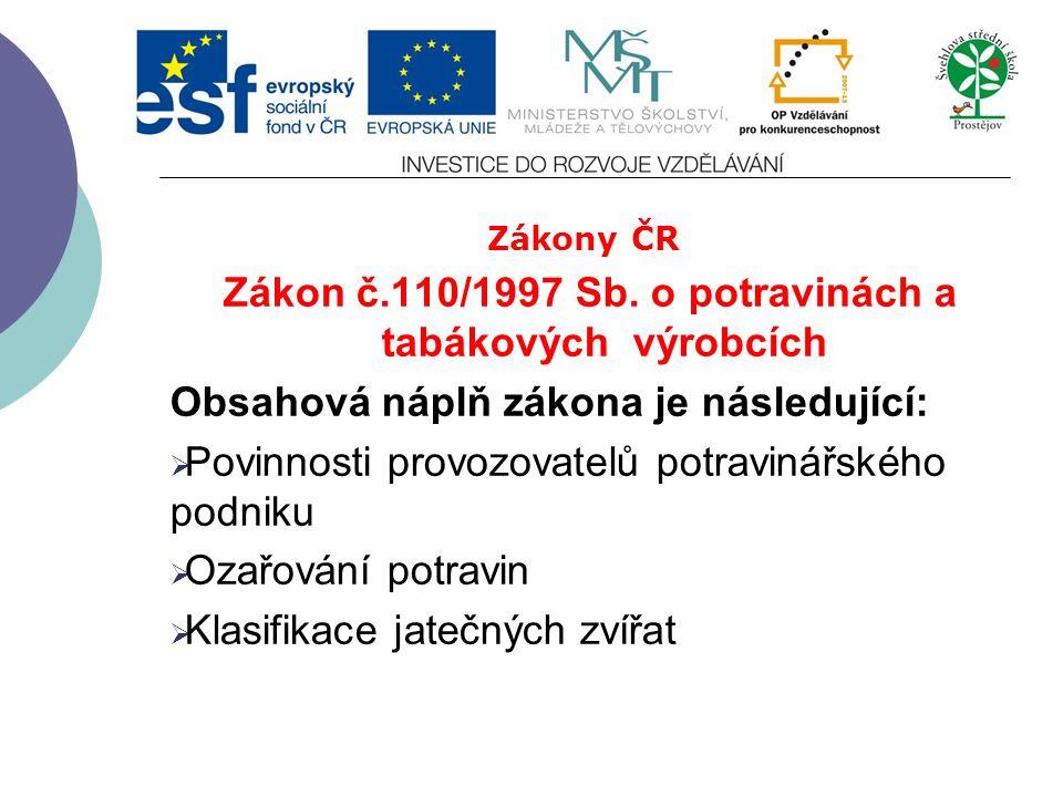 Zákony ČR Zákon č. 166/1999 Sb.