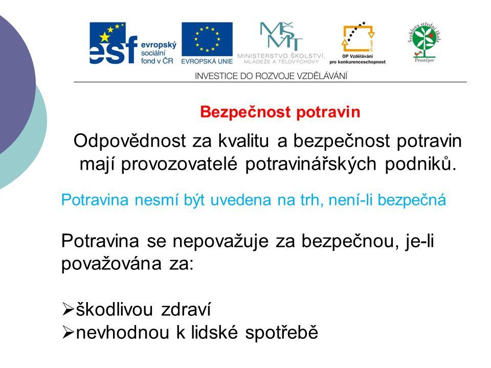 Vyhláška č.113/2005 Sb.  O způsobu označování potravin a tabákových výrobků Vyhláška č.