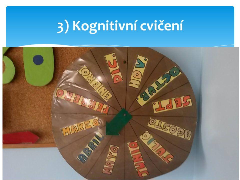 3) Kognitivní cvičení
