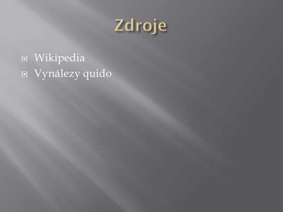 Wikipedia  Vynálezy quido