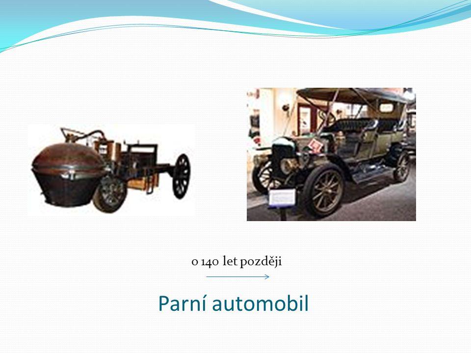 Parní automobil o 140 let později