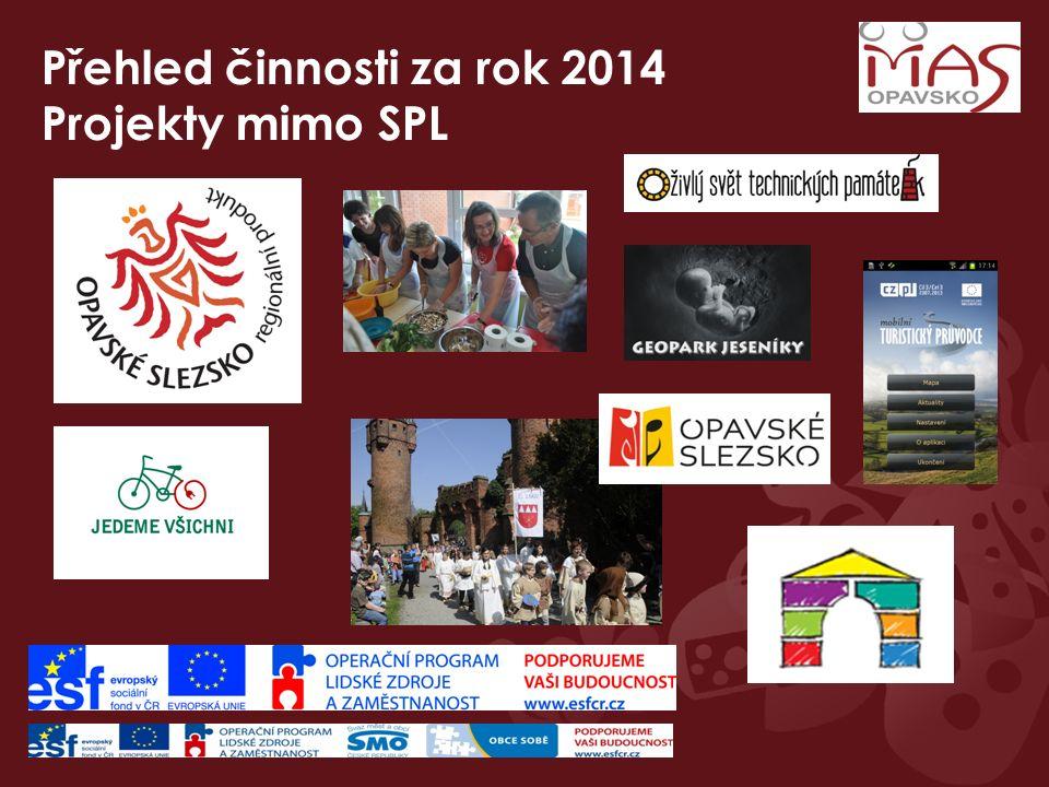 Přehled činnosti za rok 2014 Projekty mimo SPL