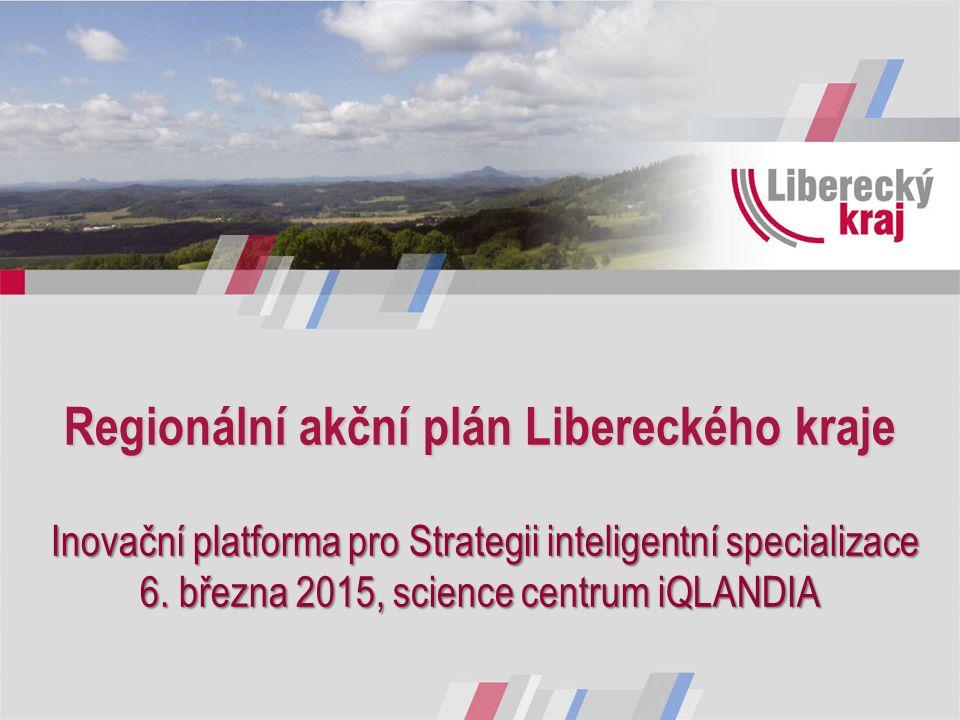 Regionální akční plán Libereckého kraje Inovační platforma pro Strategii inteligentní specializace 6.