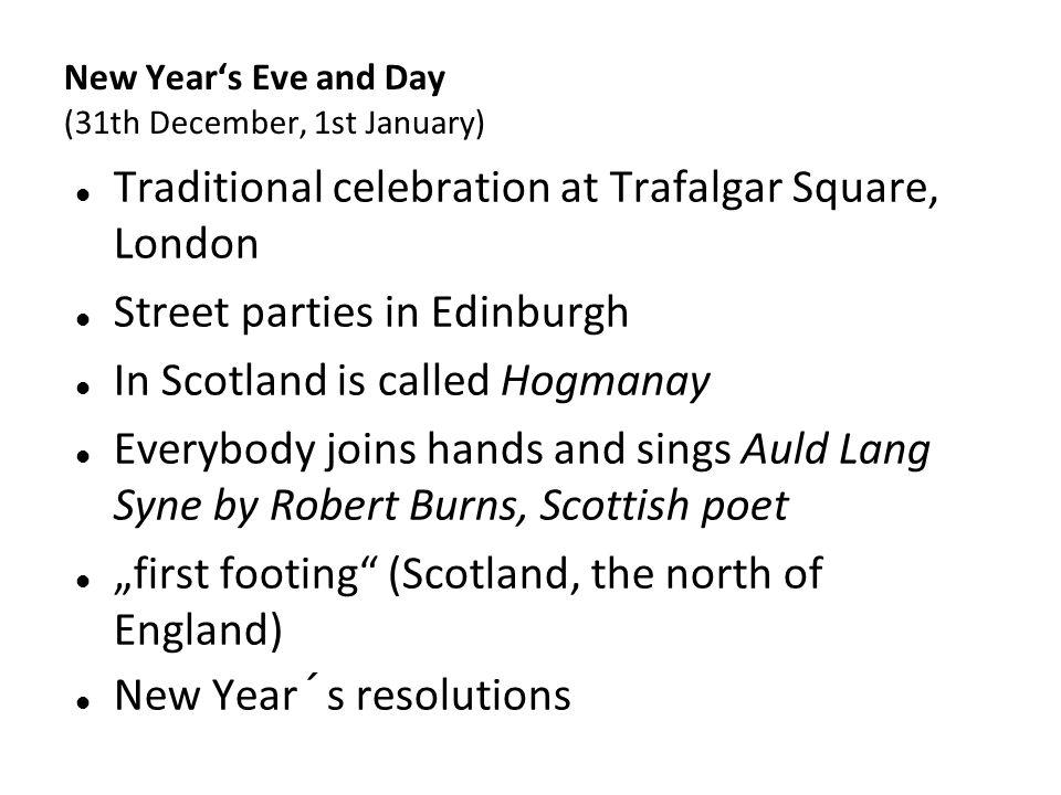 Kliknutím lze upravit styl předlohy. New Year's Eve and Day (31th December, 1st January) Traditional celebration at Trafalgar Square, London Street pa