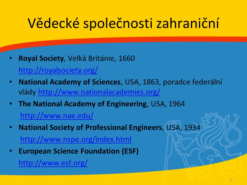 Vědecké konference All conferences.com http://www.allconferences.com/ Atlas Conferences http://atlas-conferences.com/ European Science Foundation (ESF) http://www.esf.org/ Odkazy v Kurzu Informační výchovy – 3.