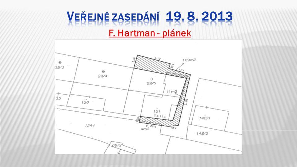 F. Hartman - plánek