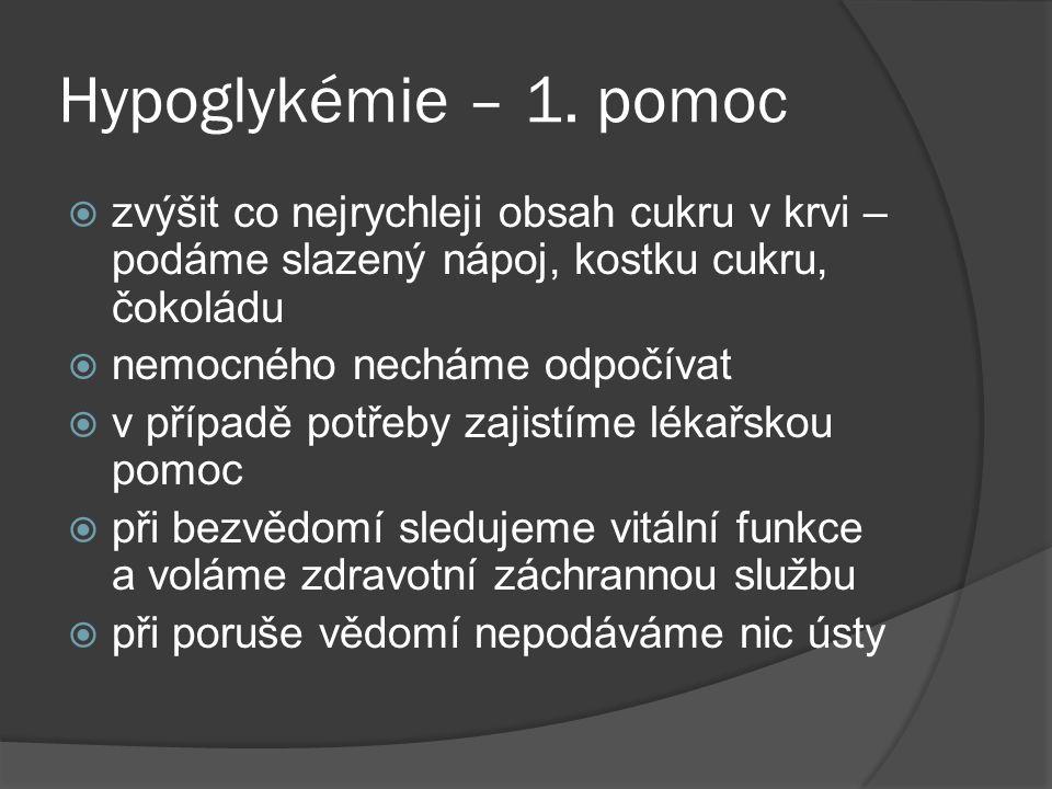 Hypoglykémie – 1.