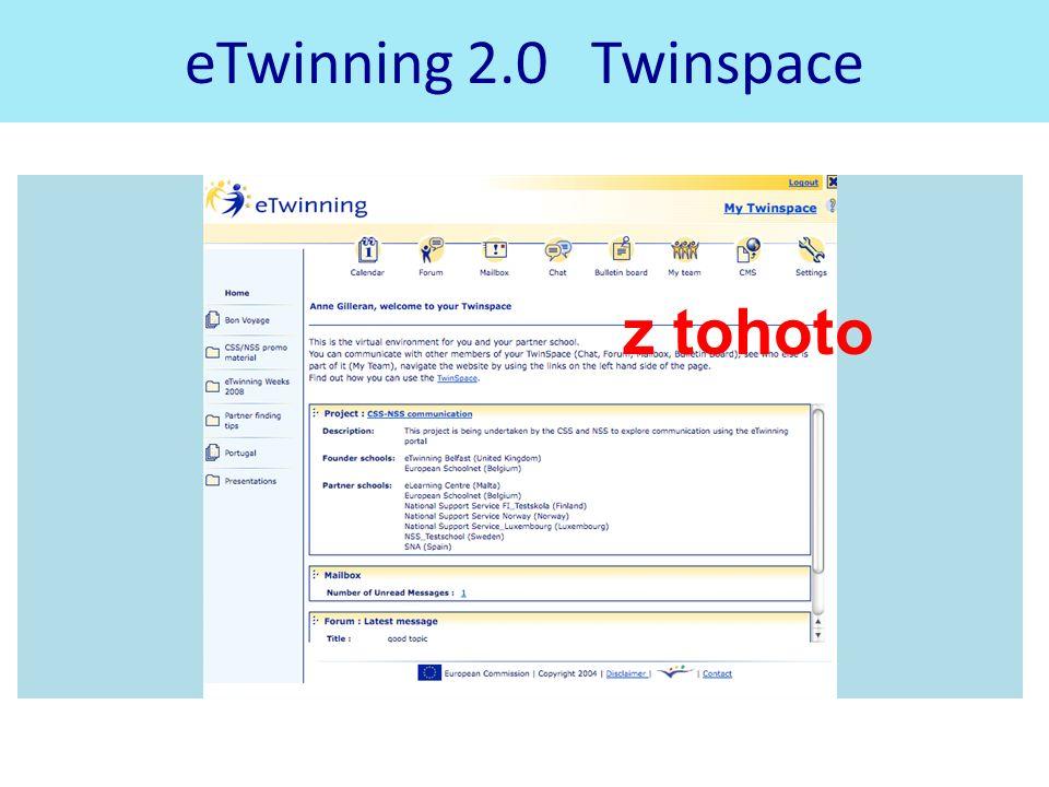 eTwinning 2.0 Twinspace z tohoto