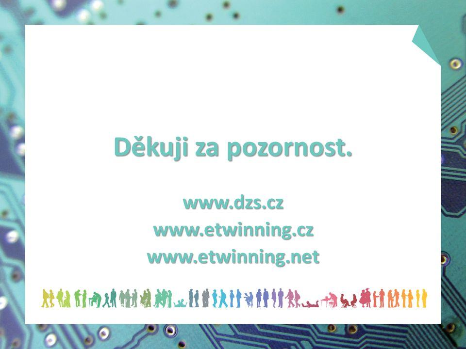 Děkuji za pozornost. www.dzs.czwww.etwinning.czwww.etwinning.net