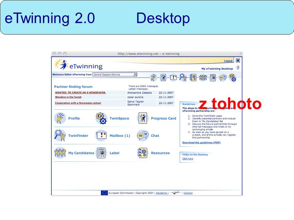eTwinning 2.0 Desktop z tohoto