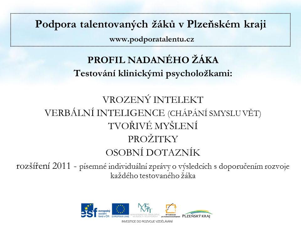 Podpora talentovaných žáků v Plzeňském kraji www.podporatalentu.cz HODNOCENÍ 2011 KEMPŮ, PŘEDNÁŠEK, VÝKONŮ LEKTORŮ, EXKURZÍ, DOPROVODNÉHO PROGRAMU, UBYTOVÁNÍ A STRAVOVÁNÍ 86 % - získalo nové vědomosti a dovednosti 90 % - odcházelo s příjemnými pocity