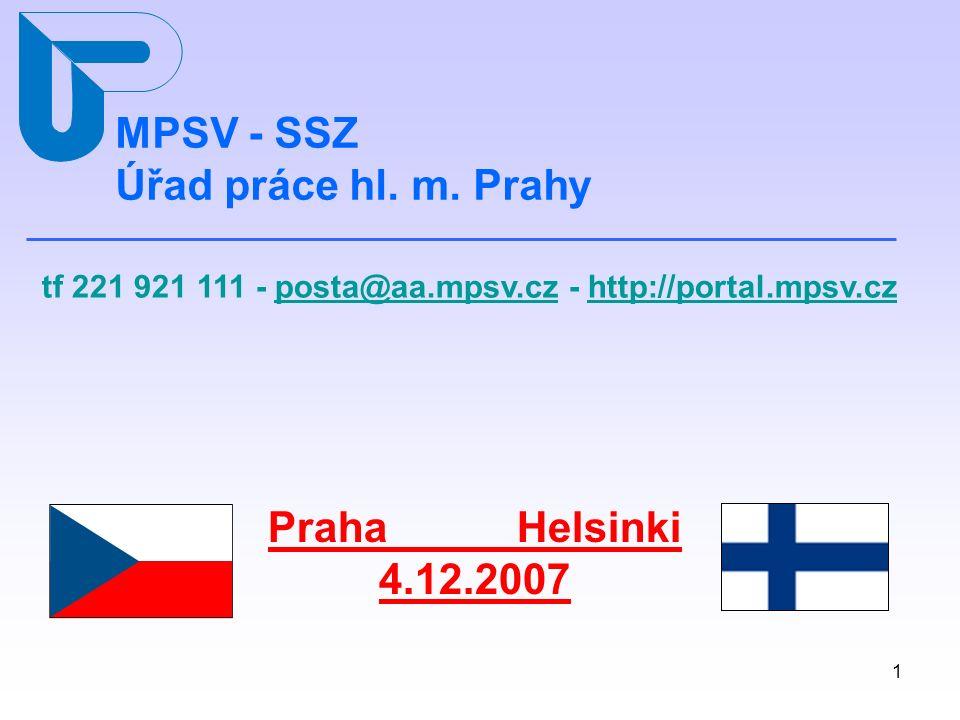 1 MPSV - SSZ Úřad práce hl.m.