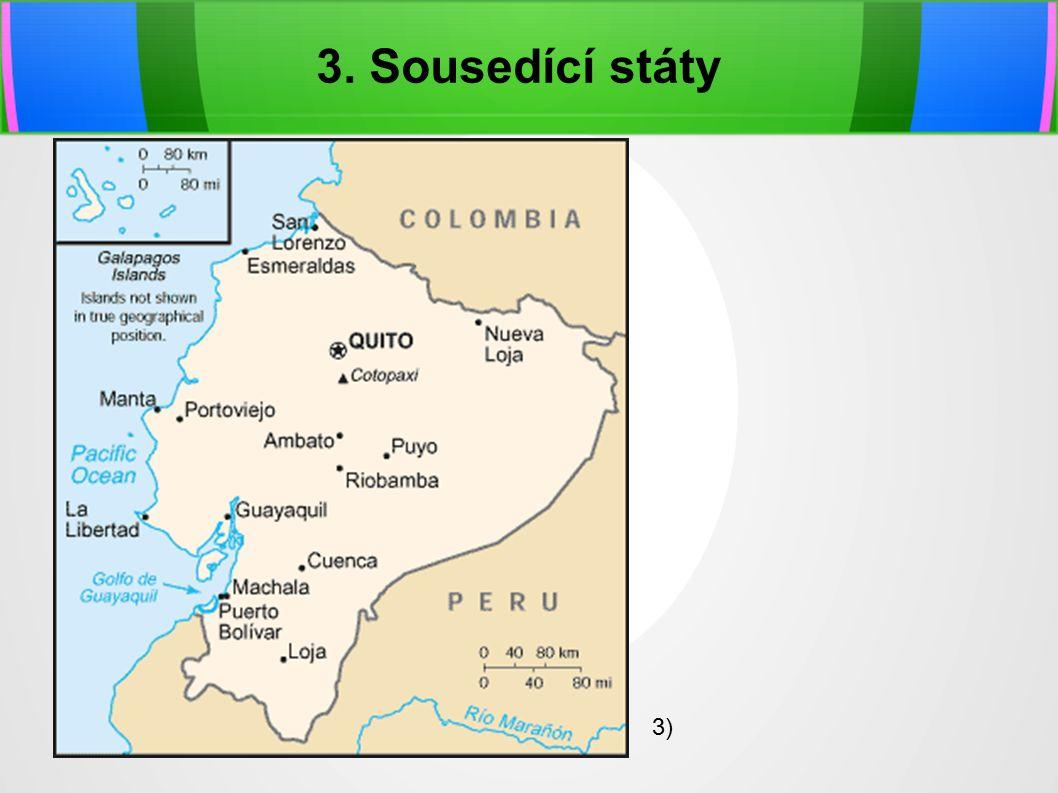 3. Sousedící státy 3)