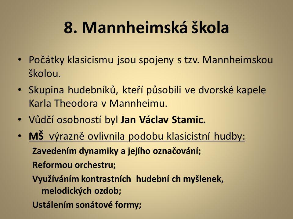 7. Poslech Poslechněte si část 1.věty symfonie L.van Beethovena.