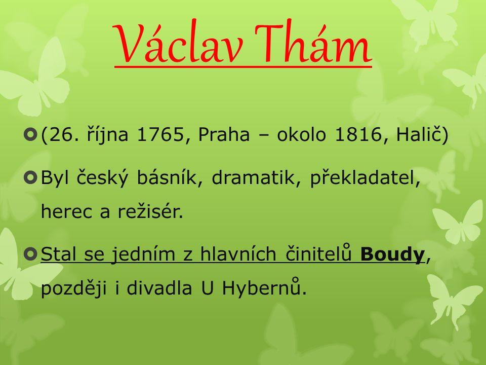 Václav Thám  (26.