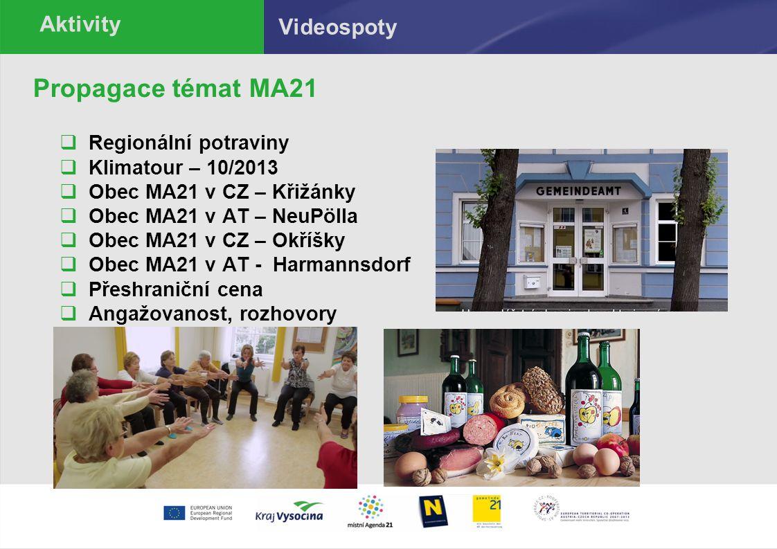 Informace o aktivitách www.zdravykrajvysocina.cz ; Facebook: zdravykrajvysocina