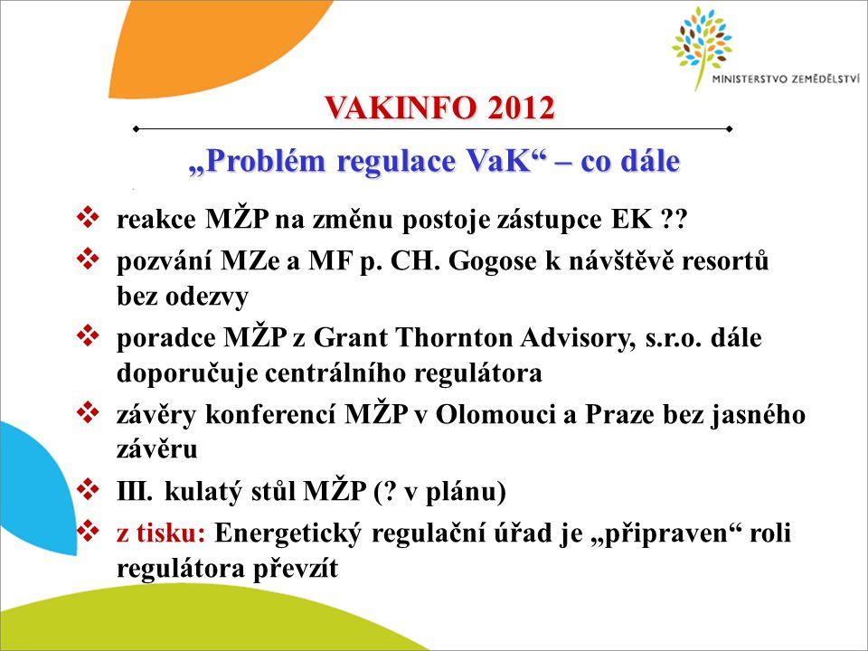  reakce MŽP na změnu postoje zástupce EK ?. pozvání MZe a MF p.