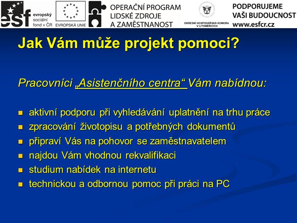 Jak Vám může projekt pomoci.