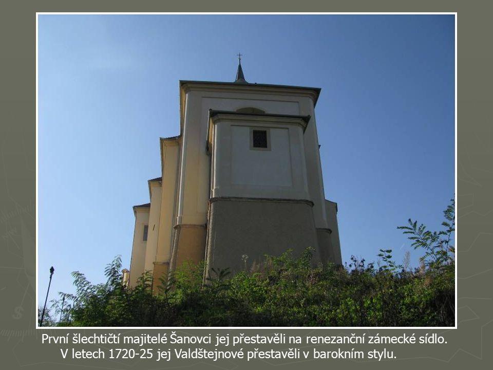 Původní královský hrad se nazýval Miesenburg neboli hrad nade Mží.