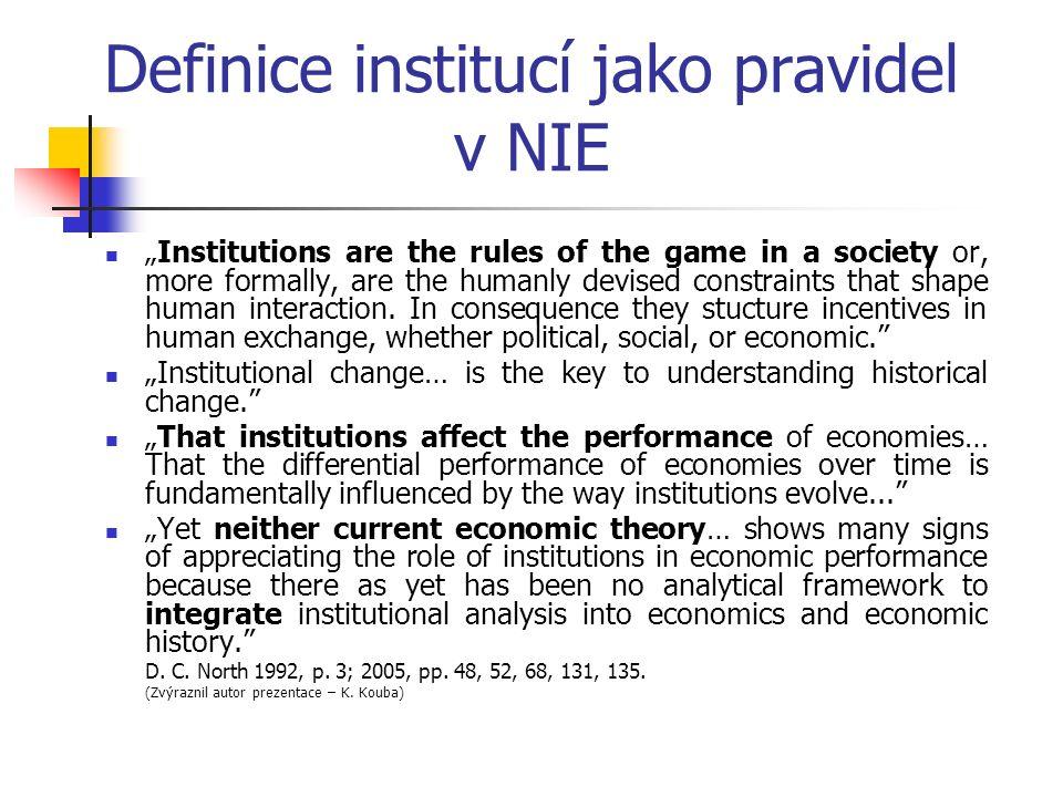 Tržní ekonomika vs socialistická ekonomika János Kornai domácí stránka: http://www.kornai-janos.hu/http://www.kornai-janos.hu/ Politická moc – demokracie, soukromé vlastnictví a trh Dominance soukromého vlastnictví ve smíšené ekonomice Tržní koordinace – tržní ceny – regulace trhů Tvrdé rozpočtové omezení Cyklický vývoj – chronická nezaměstnanost Trh kupujícího Nedělitelná politická moc komunistické strany Dominance státního a kvazistátního – družstevního vlastnictví Byrokratická koordinace – administrativní ceny Měkké rozpočtové omezení Chronické deficity zboží spotřebního, pracovních a investičních zdrojů Trh prodávajícího