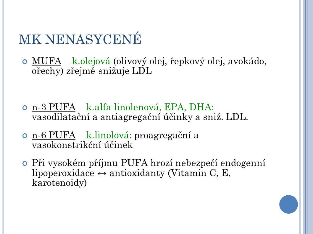 OTÁZKY: Které mastné kyseliny jsou pro tělo nepostradatelné? Kde se vyskytuji?