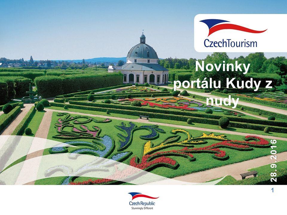 1 28.9.2016 Novinky portálu Kudy z nudy